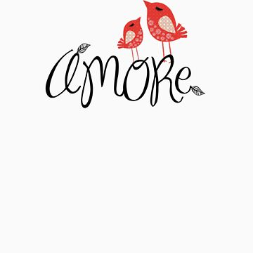 AMORE T-Shirt by Sihem