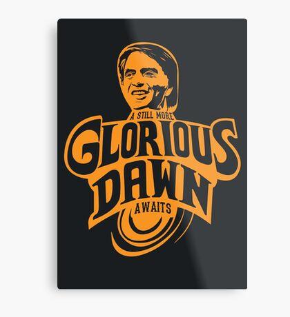 Still more Glorious Dawn - Dark T Metal Print