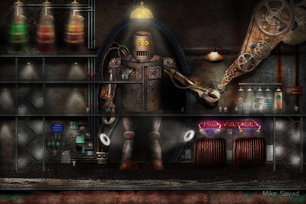 Mad Scientist - The Enforcer by Michael Savad
