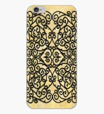 Wrought Inspiration Golden iPhone Case