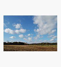 da clouds Photographic Print