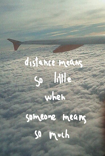 All about distance. (2) by tempuros