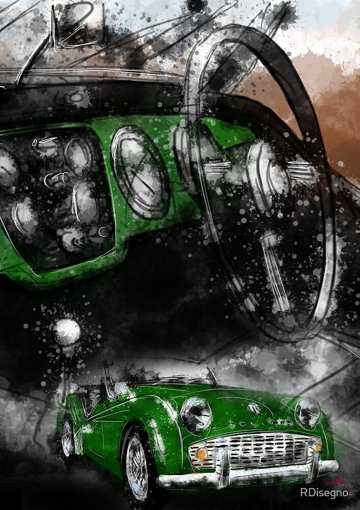 Triumph TR3 by RDisegno