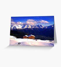 """""""Chalet - Zurich, Switzerland"""" Greeting Card"""