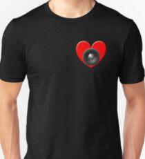 Subwoofer Heart Unisex T-Shirt