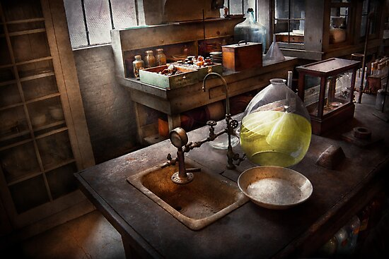 Science - Chemist - Scientific Discoveries  by Michael Savad