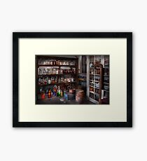 Science - Chemist - The secret of life Framed Print
