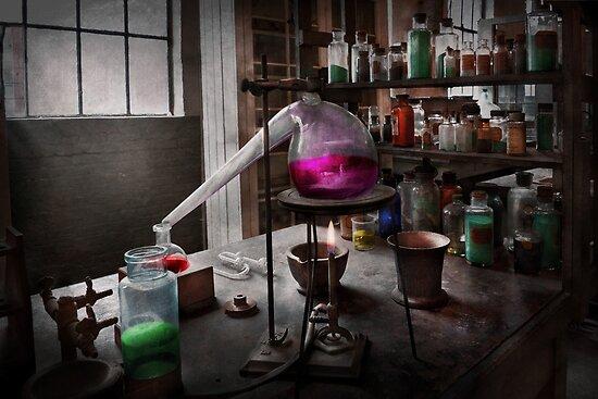 Science - Chemist - Chemistry for Medicine  by Michael Savad