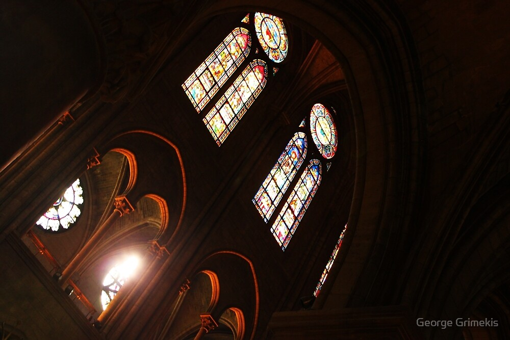 Notre Dame Light by George Grimekis