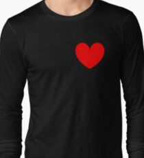 Simple Heart Long Sleeve T-Shirt