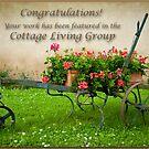 Cottage Living Banner by Jacinthe Brault