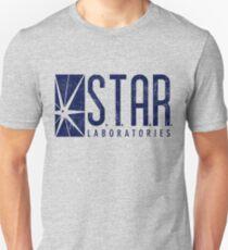 STAR Labs - Blue- Grunge T-Shirt