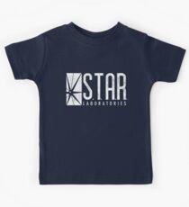 STAR Labs - White - Grunge Kids Tee