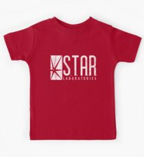 STAR Labs - White - Grunge Kids Tee