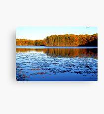 Lake Rockwell, Ohio Canvas Print