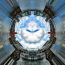 Cardiff bay, Wales.  A small world by David Carton