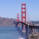 Golden Gate Bridge by Barrie Woodward