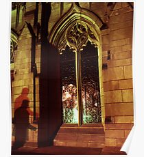 Stranger At The Church  Poster