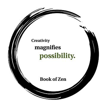 Inspirational Quote About Creativity by bookofzen