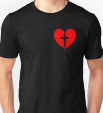 Christian Heart Unisex T-Shirt
