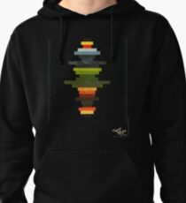 The Obfuscated Cross  (T-shirt) Pullover Hoodie