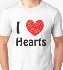I <3 Hearts Unisex T-Shirt
