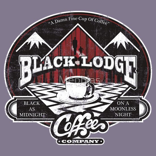 TShirtGifter presents: Black Lodge Coffee Company T-Shirt