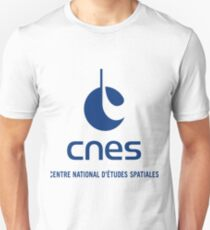 France Space Agency Current Logo (CNES) Unisex T-Shirt