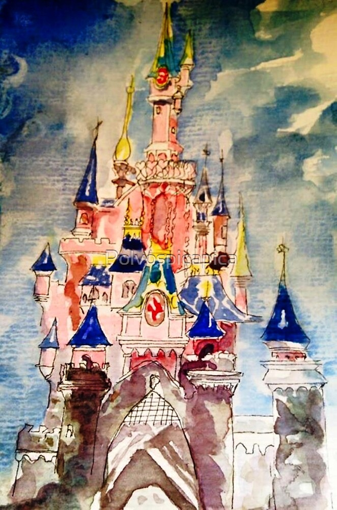 Princess castle by Polvospicapica