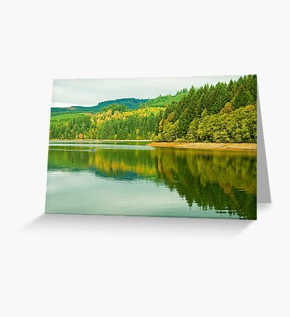 Autumn At Foster Greeting Card