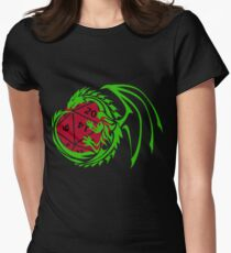Dungeons and Dragons - Custom Colors Available! Womens Fitted T-Shirt