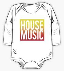 House Music One Piece - Long Sleeve