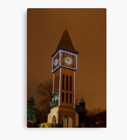 Clock Tower Main Strauss KY Canvas Print