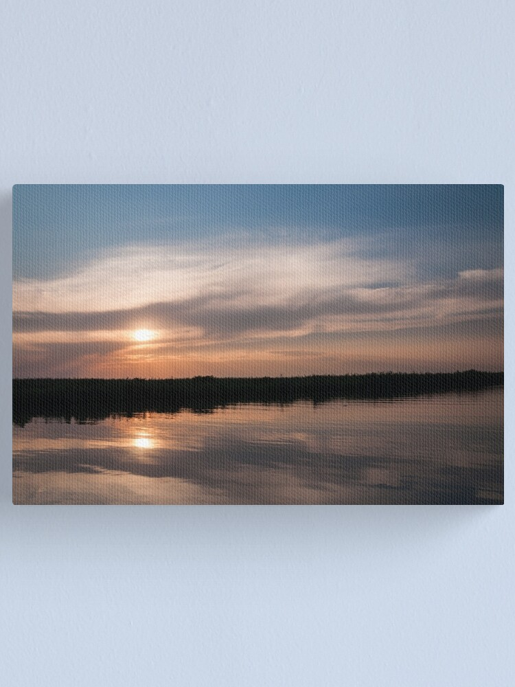 Alternate view of Two sunsets Canvas Print