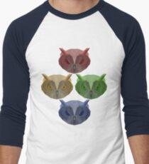 All of the Owls! Baseball ¾ Sleeve T-Shirt