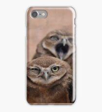 Nag Nag Nag (Annoyed Owl) iPhone Case/Skin