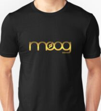 Golden Vintage Moog Synth Unisex T-Shirt