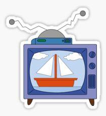 simpsons tv Sticker
