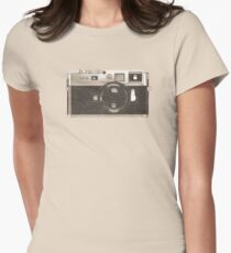 M9 Camera Womens Fitted T-Shirt