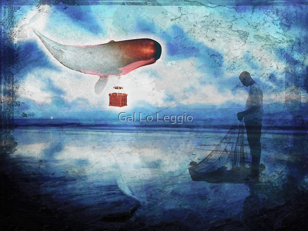The Whale and The Fisherman by Gal Lo Leggio