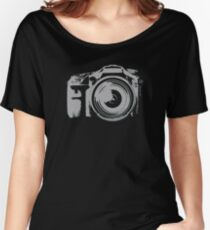Fast Shooting Camera Women's Relaxed Fit T-Shirt