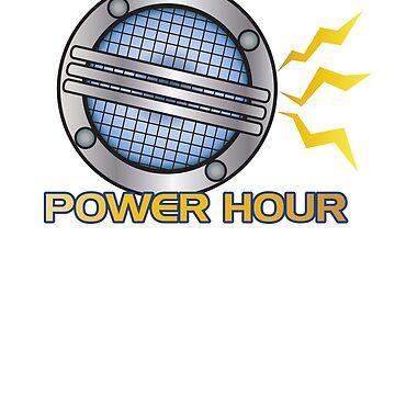 Ranger Command Power Hour - Podcast Logo by trekkieb47