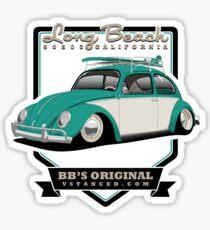 Long Beach - Green - Sticker Sticker