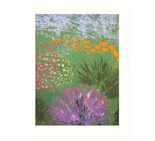 Colourful Array Art Print