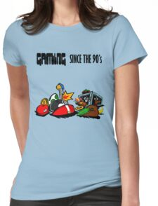 Gaming Since the 90's Womens Fitted T-Shirt
