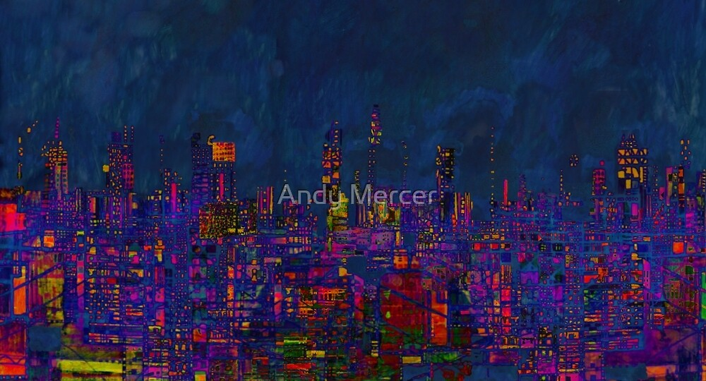 Digital City  by Andy Mercer