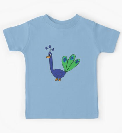 blue peacock Kids Clothes