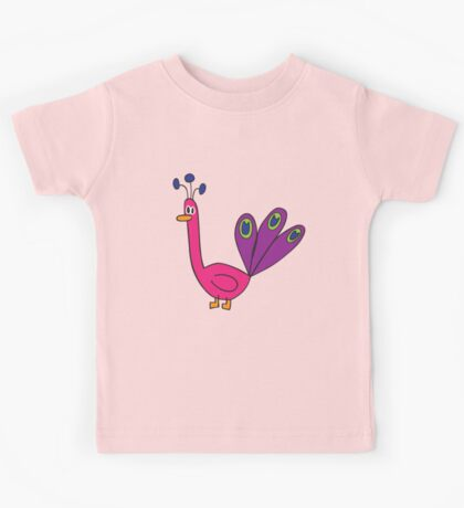 pink peacock Kids Clothes