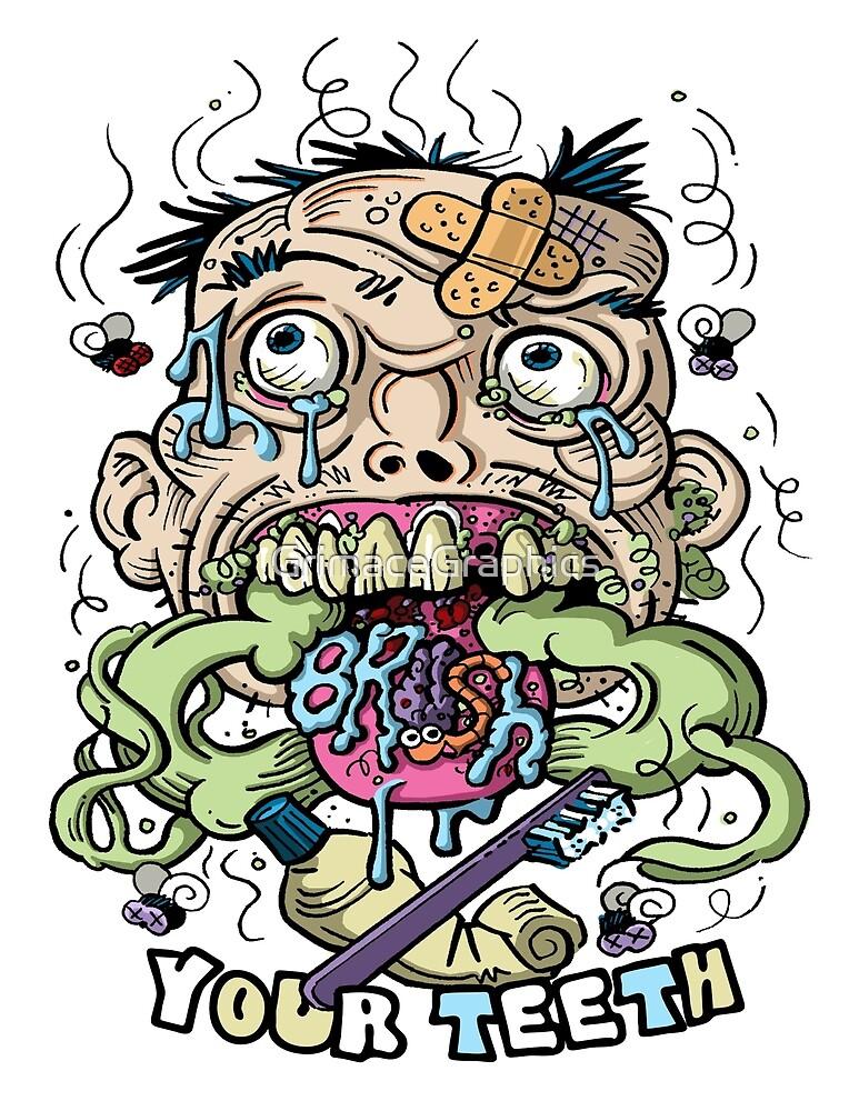 Dental Hygene by GrimaceGraphics