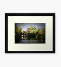 In Brugge - Minnewater Framed Print
